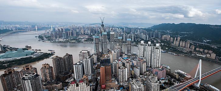 重庆渝中区城市风光全景图图片