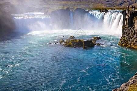 冰岛黄金瀑布图片