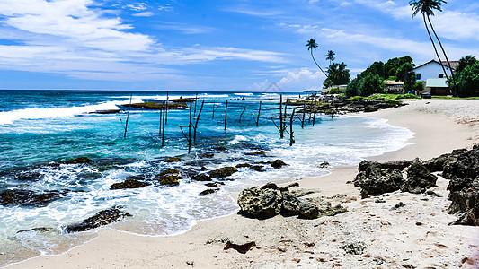 斯里兰卡南部海滨图片