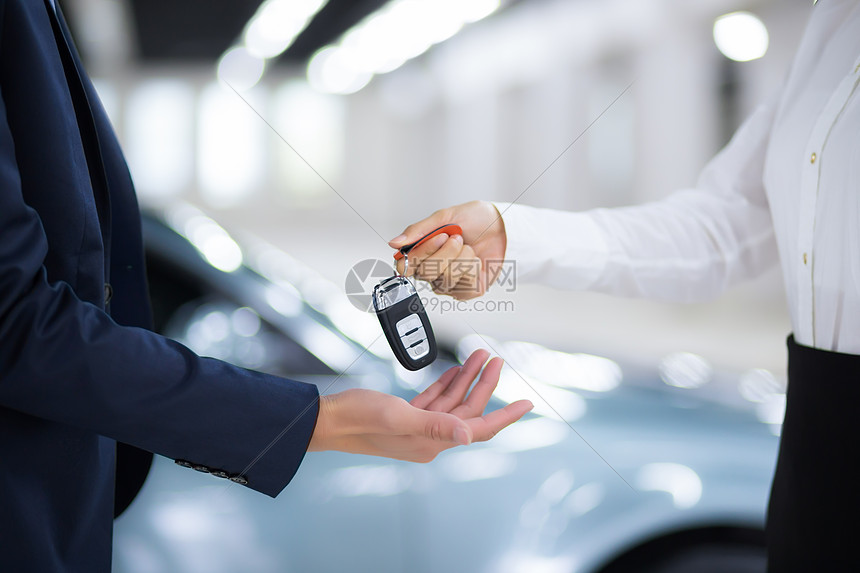 汽车贩卖交钥匙图片