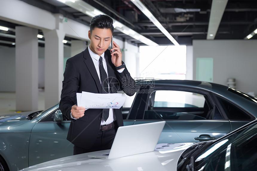 汽车贩卖男性商务图片