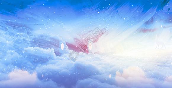中国风插画背景图片
