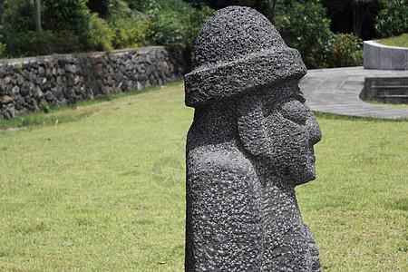 济州岛石头老爷爷图片