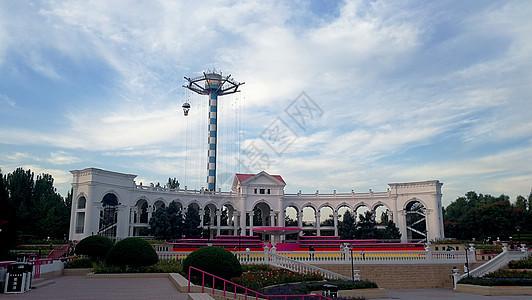 北京朝阳公园图片