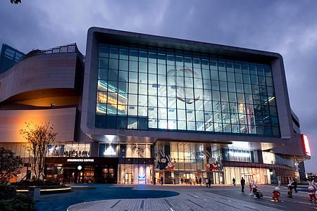购物中心门口图片