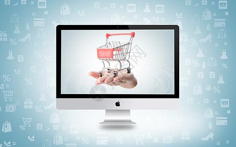 网上购物图片
