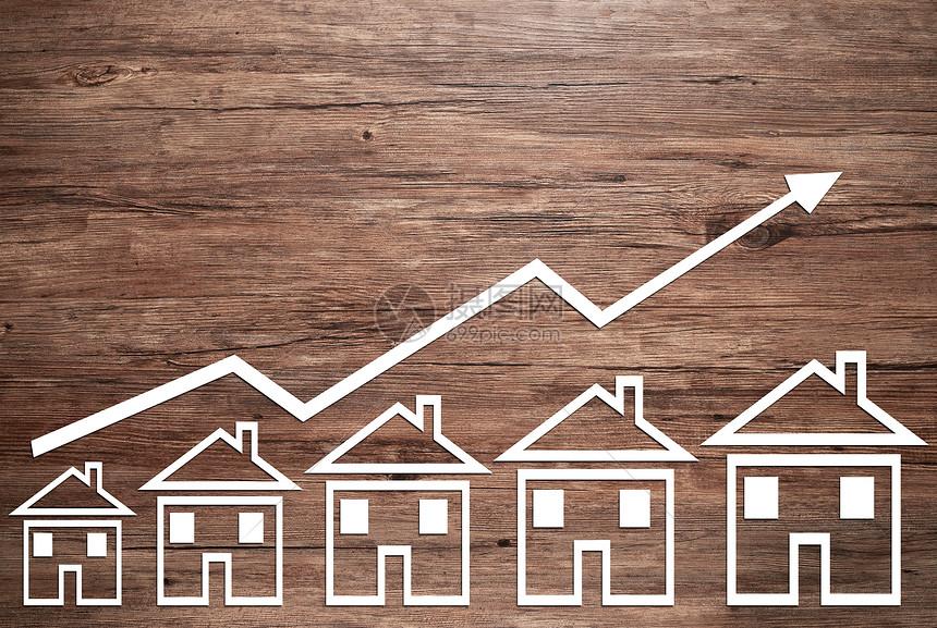 房价增长图片