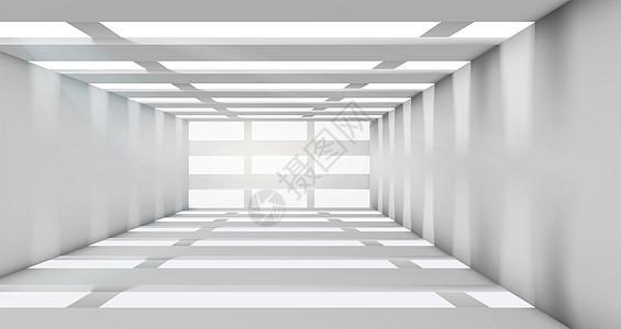 空间几何结构背景图片