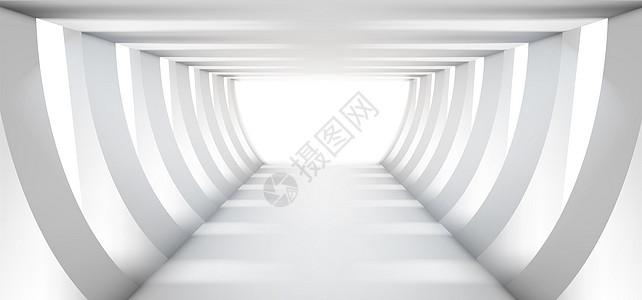 空间几何科技感图片