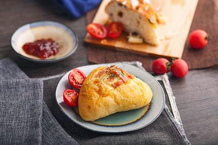 美味面包三文治图片