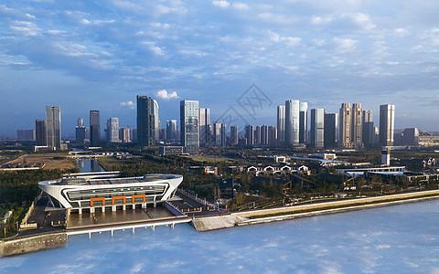 城市高楼风光图片