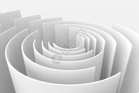 3D层次感几何体结构图片