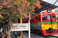 泰国美功铁道市场图片
