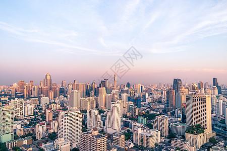 泰国曼谷城市天际线图片
