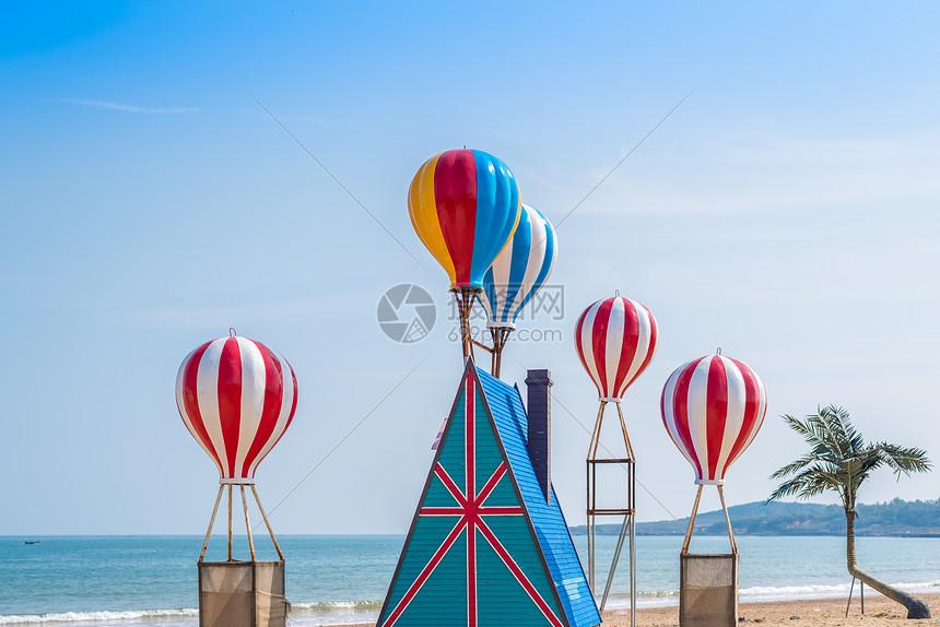 唯美图片 旅游度假 秋季青岛海滨婚纱摄影基地热气球jpg  分享: qq