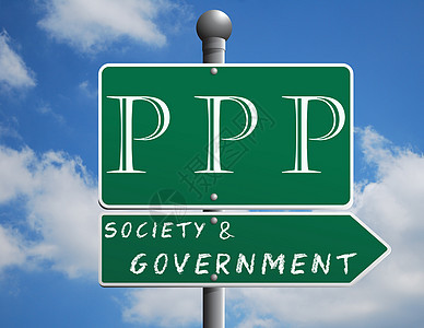 PPP政府与社会合作图片