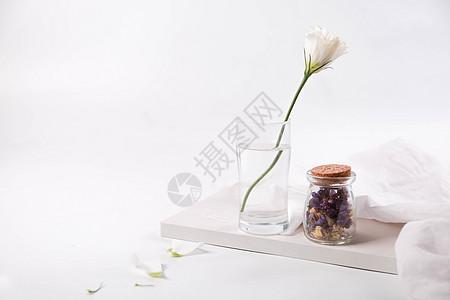 小清新鲜花素材图图片