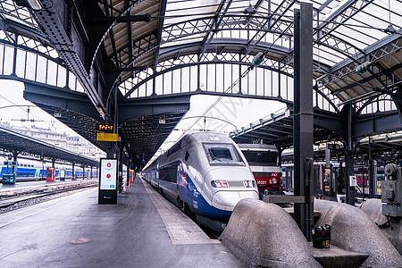 欧洲列车火车站图片