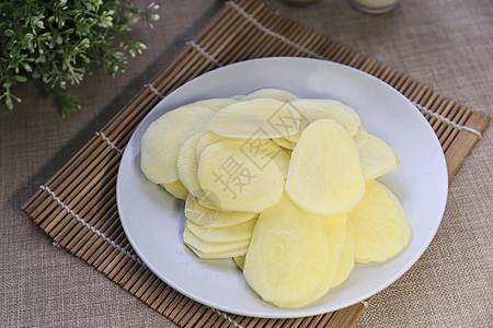 土豆片图片