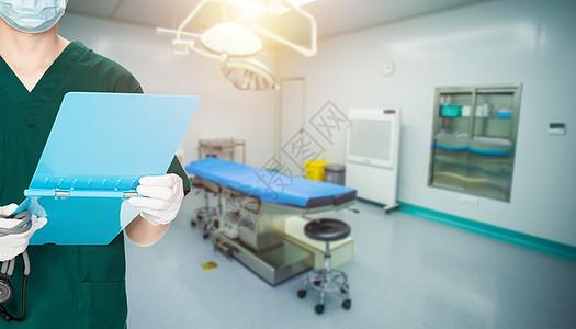 手术室的医生图片