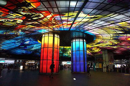 台湾最美的捷运站图片