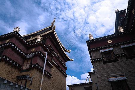 云南 香格里拉 松赞林寺图片