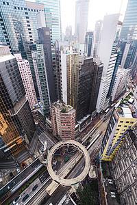 香港高楼群图片