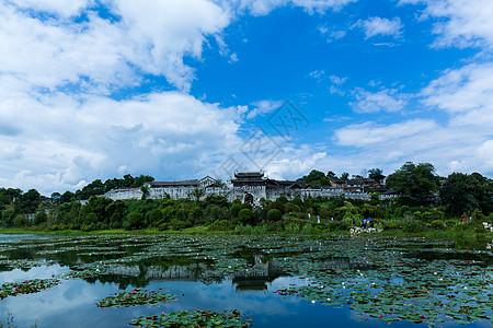 青岩古镇南门图片