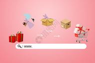 网络购物图片