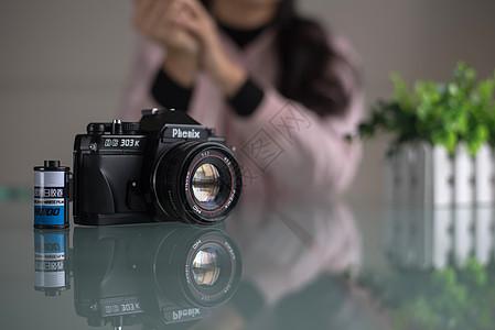 胶卷与相机图片