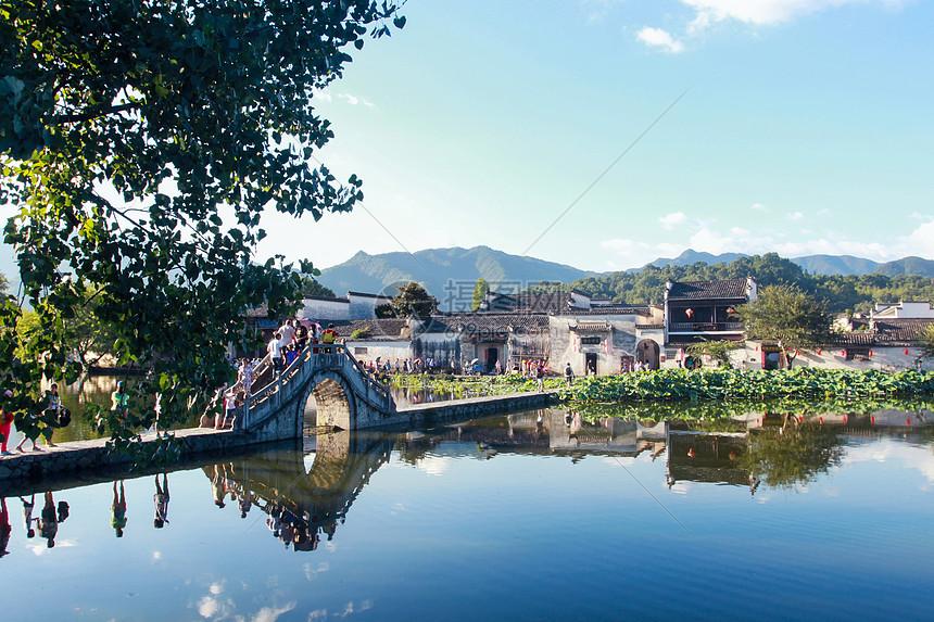 安徽黄山宏村图片
