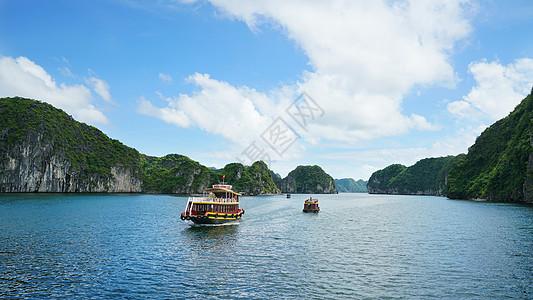 越南下龙湾世界自然遗产风景名胜图片