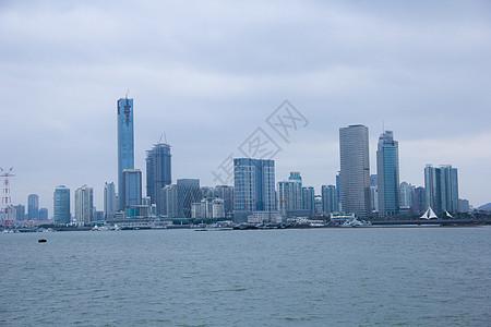 厦门城市建筑风光图片