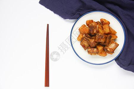 美味中餐小炒肉红烧排骨图片
