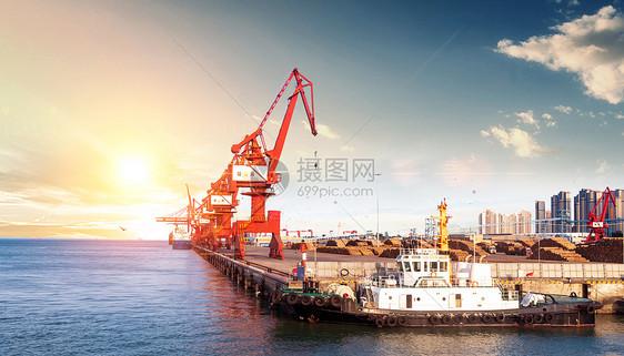 海上运输贸易图片