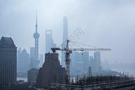 上海高速发展中的状态图片
