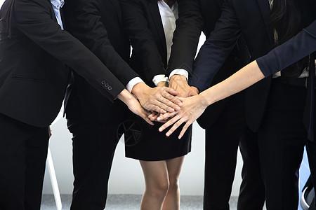 商务团队合作共赢图片