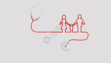 创意医疗听诊器图片