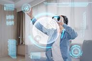 虚拟VR眼镜图片
