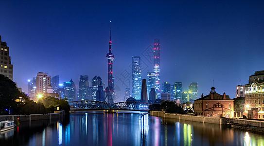 上海陆家嘴建筑群图片