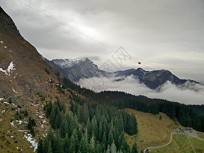 瑞士阿尔卑斯山风景雪山图片