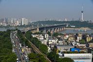 武汉长江大桥图片