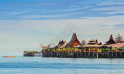 马来西亚海上度假村图片