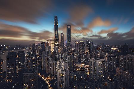 魔都风云上海建筑夜景图片