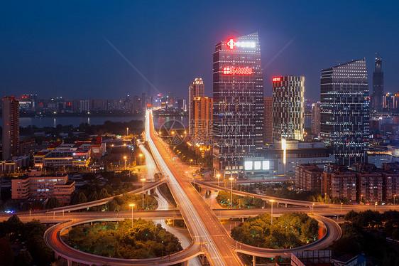 武汉黄浦路立交桥车轨图片