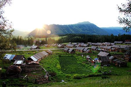 新疆喀纳斯图片