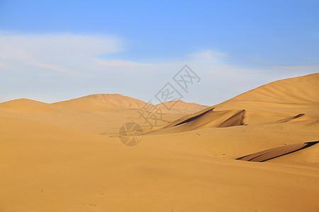 敦煌鸣沙山沙漠沙丘图片