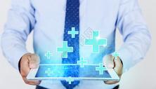医疗科技十字技术图片
