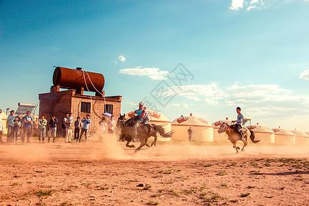 内蒙古赛马图片