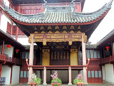 上海豫园一角图片